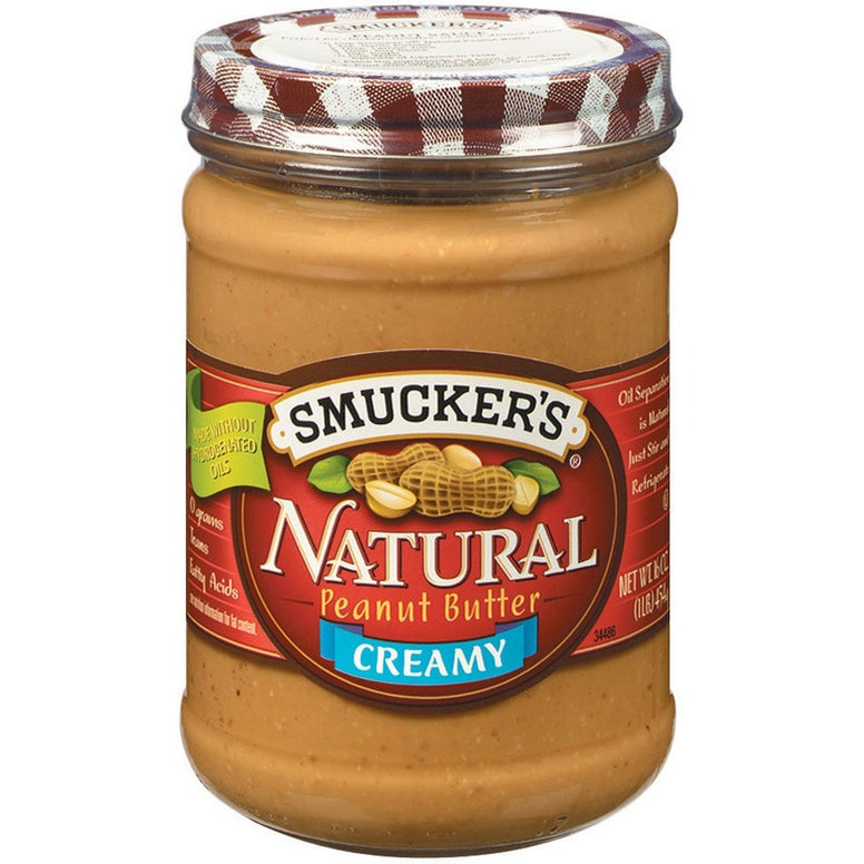 Smuckers Creamy Natural Peanut B.