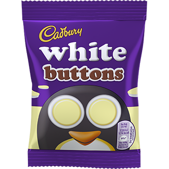 Cadbury Buttons White 32gr