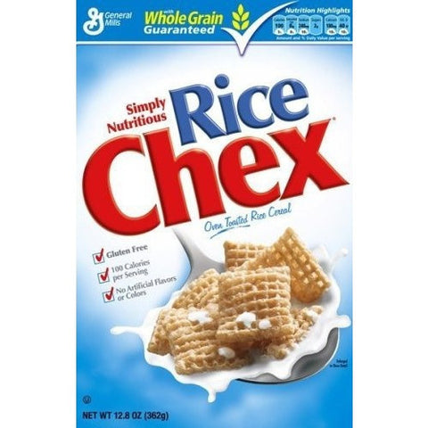 Rice Chex Cereals (Gluten Free)