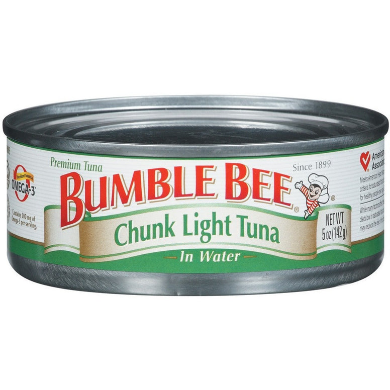 Bumble Bee Chunk Light Tuna In Water (180gr)