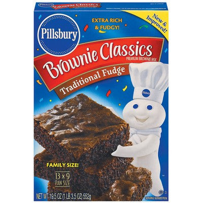 Pillsbury Brownie Mix