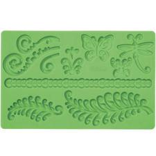 Wilton Fern Designs Gum Paste & Fondant Mold