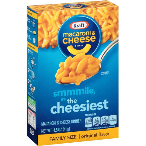 Kraft Family Macaroni & Cheese Original  (410gr)