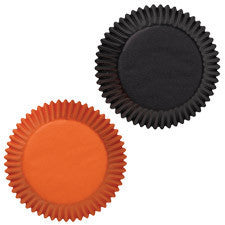 Wilton Black/Orange Assorted Baking Cups