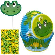 Wilton Frog Cupcake Decorating Kit