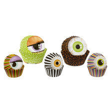 Wilton Halloween Monster Eyes Multipack Baking Cups 125ct