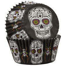 Wilton Day of the Dead Baking Cups 75ct