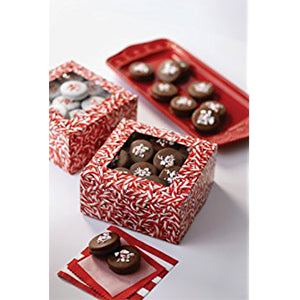 Wilton CANDY CANE GIFT BOXES