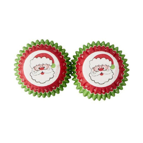 wilton mini christmas santa 100pcs