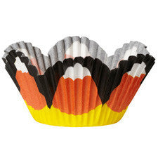 Wilton Candy Corn Mini Petal Baking Cup