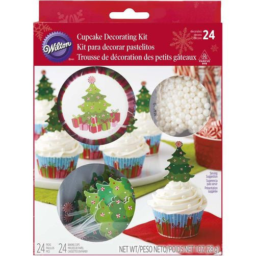 Wilton Christmas Tree Cupcake Deco Kit