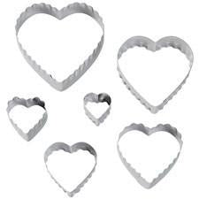Wilton Heart Fondant Double Cut-Outs Set