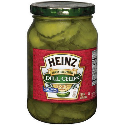 Heinz Hamburger Dill Chips (475ml)