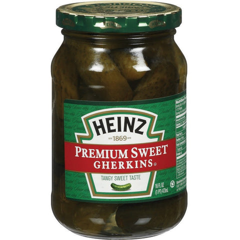 Heinz Premium Sweet Gherkins 470ml