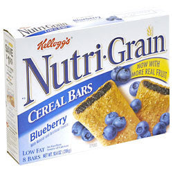 Kellogg's Nutri-grain Blueberry