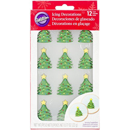 Wilton Mini Christmas Tree 12pcs