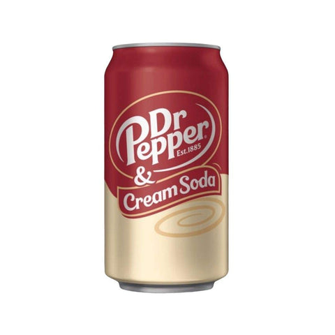 dr pepper cream soda 33cl