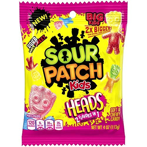 sour patch kids big head 140gr