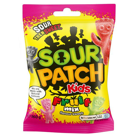 sour patch fruit mix 160gr