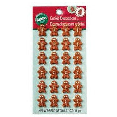 Wilton Mini Gingerbread Icing Decorations