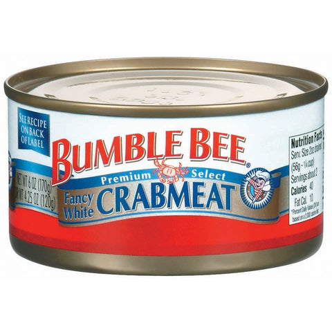 Bumble Bee White Crabmeat