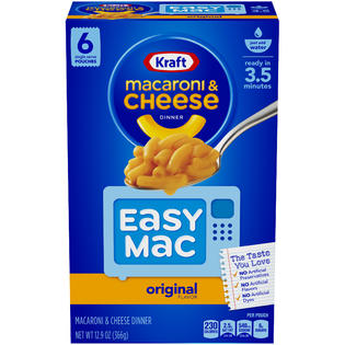 Kraft Easy Mac Cups 6pk (365gr)