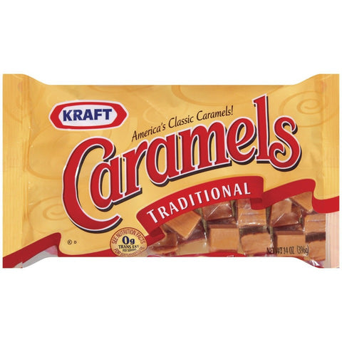 Kraft Caramels Traditional (395gr)