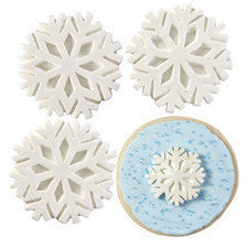 Wilton® Snowflakes With Sparkle Royal Icing Decorations, 12-Ct.