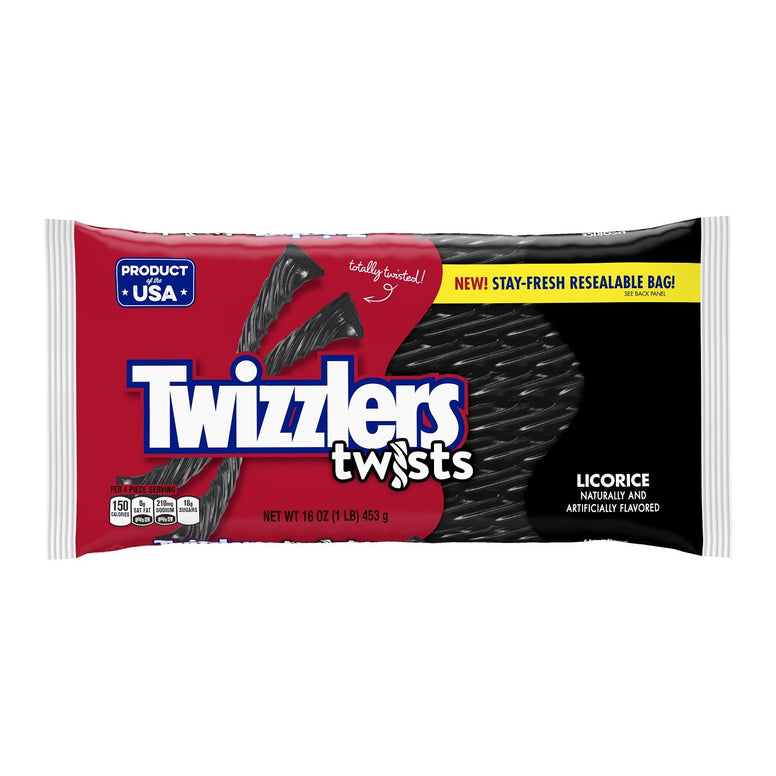twizzler licorice twist 450gr