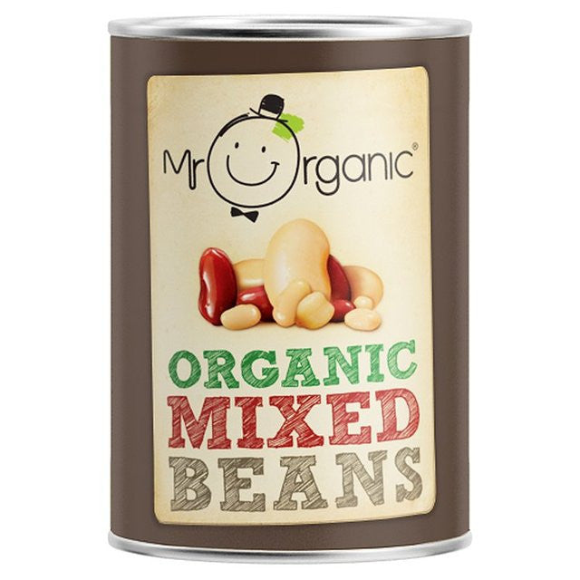 Mr Organic Mixed Beans 400gr