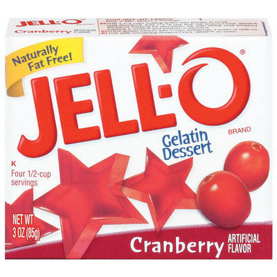 Jell-o Cranberry