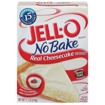 Jell-o Cheesecake No Bake 11oz