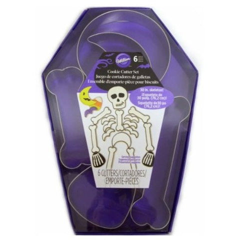 Wilton 6-Pc. Skeleton Metal Cookie Cutter Set