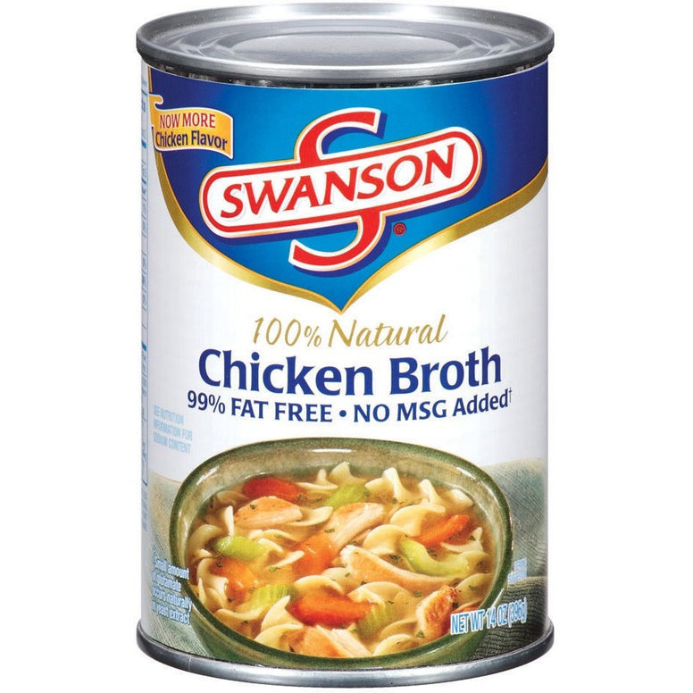 Swanson Chicken Broth 14oz