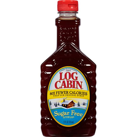log cabin sugar free syrup 900ml