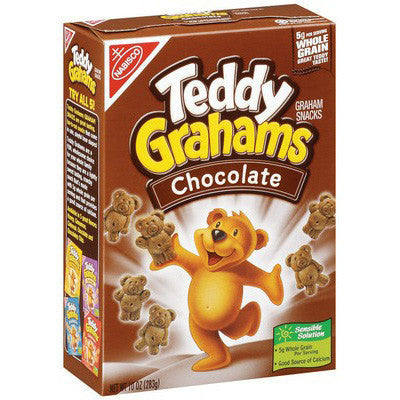 Nabisco Teddy Grahams Chocolate (280gr)