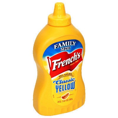French Yellow Mustard 560gr