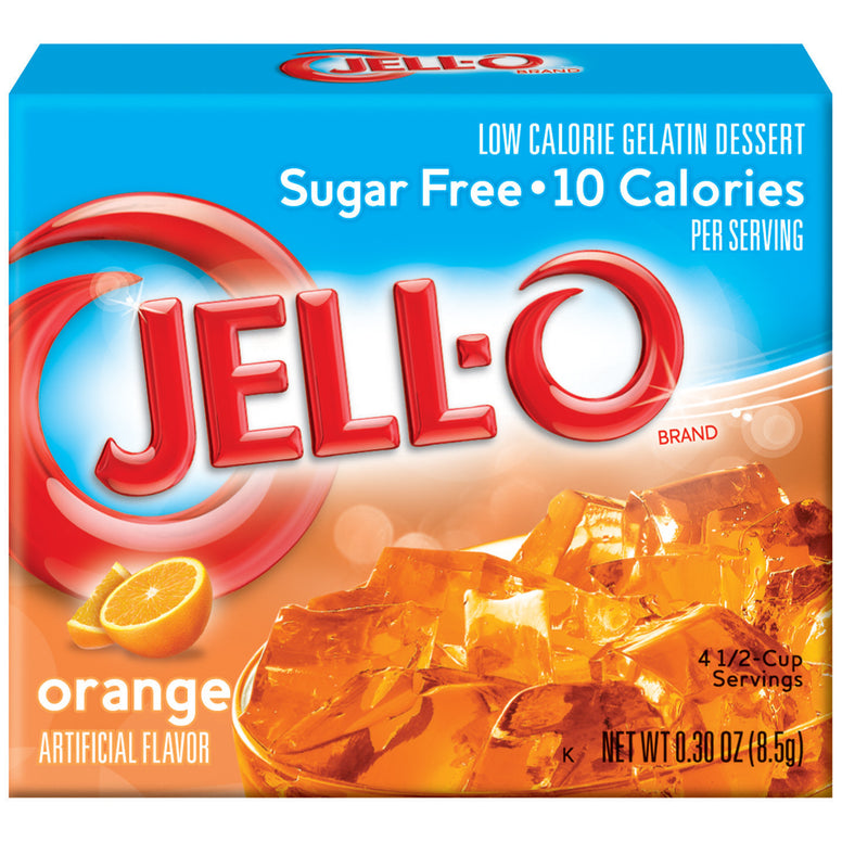 Jell-o Sugar Free Orange