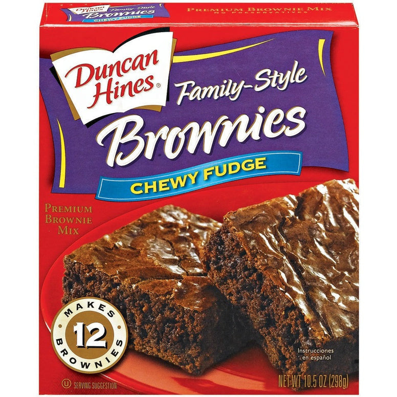 Duncan Hines Chewy Brownie