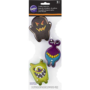 Wilton Halloween Cookie Cutter Monsters