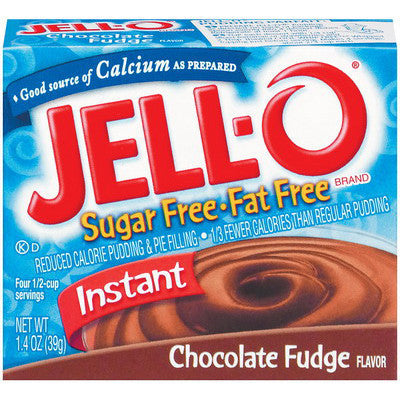 Jell-o Chocolate Free Sugar