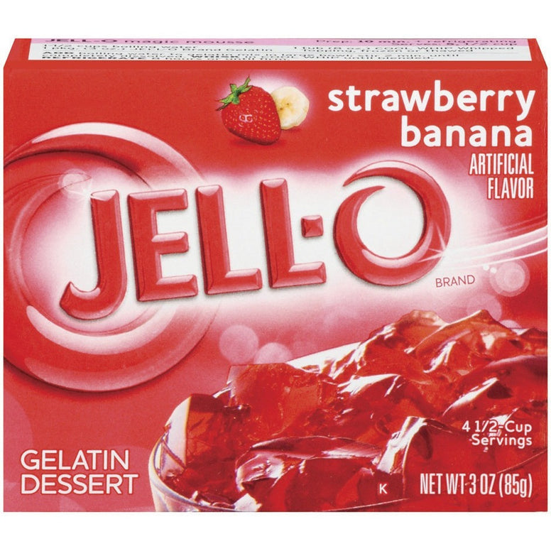 Jell-o Strawberry-Banana