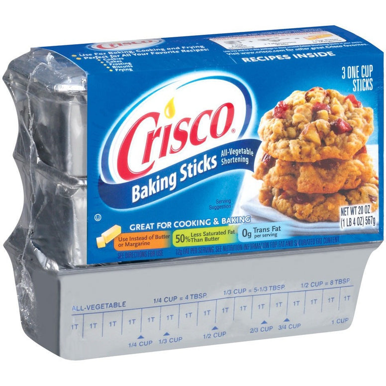 Crisco Baking Sticks (3 sticks)(565gr)