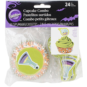 Wilton Halloween Combo Picks Science 24pcs
