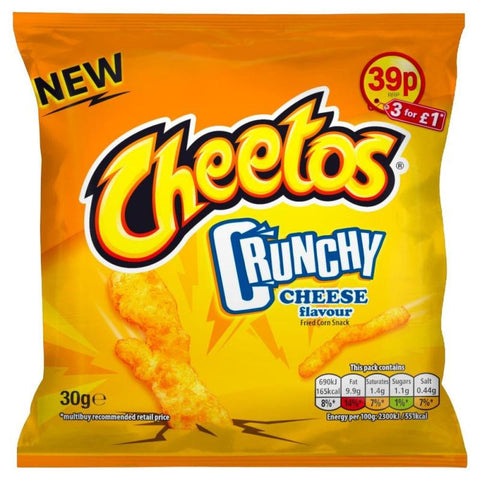 Cheetos Crunchy (UK) 30gr