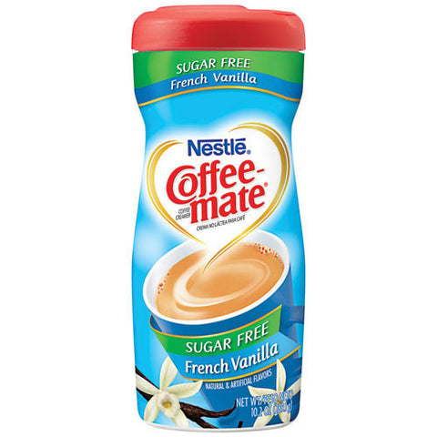Coffee Mate French Vanilla Sugar Free 290gr