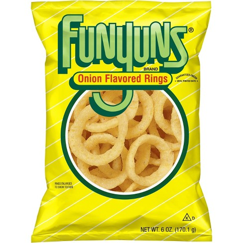 funyuns onion flavored rings 165gr