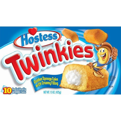 Hostess Twinkies Original 420gr (10pcs wrap individually)