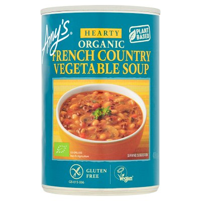 amy's hearty soup french vegetable 410gr