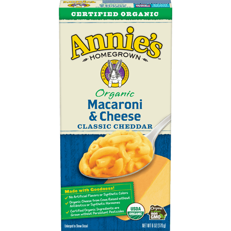 annie mac & cheese Organic 170gr